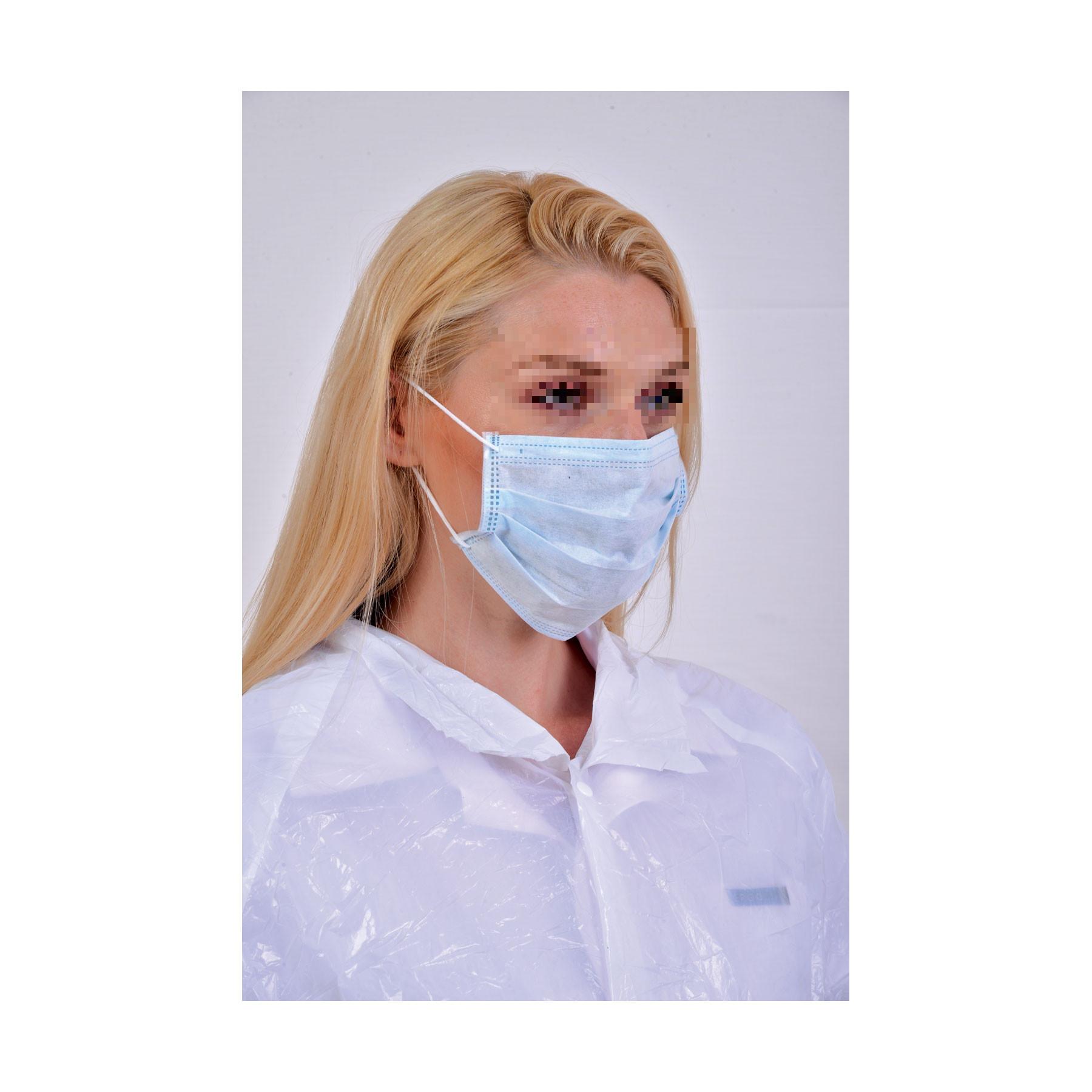 Μάσκα χειρουργική μίας χρήσης