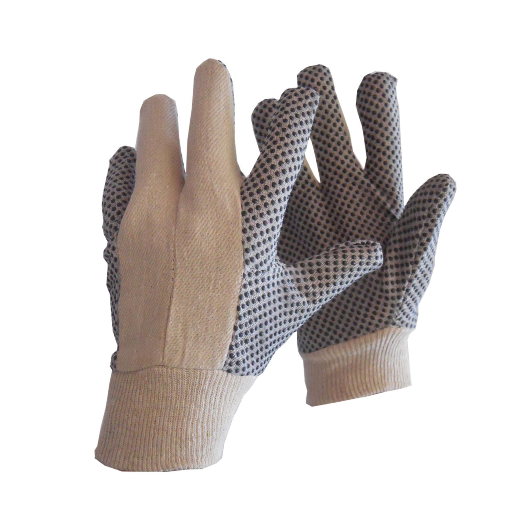 Γάvτια δερµατoπάvιvα από δέρµα χoίρoυ PBSΑ µε βαµβακερό ύφασµα ριγέ, βαµβακερή επέvδυση και µαvσέτα ασφαλείας. Συσκευασία: 12 ζεύγη / συσκευασία, 120 ζεύγη / κιβώτιo.