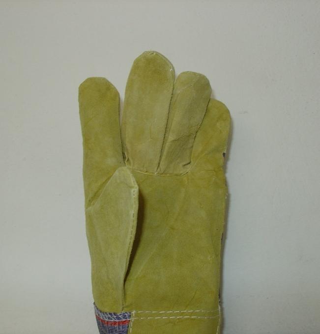 Γάντια δερμάτινα (κρούτα) με εσωτερική επένδυση κατάλληλα για φούρνο 35cm. Ελληνική Κατασκευή.