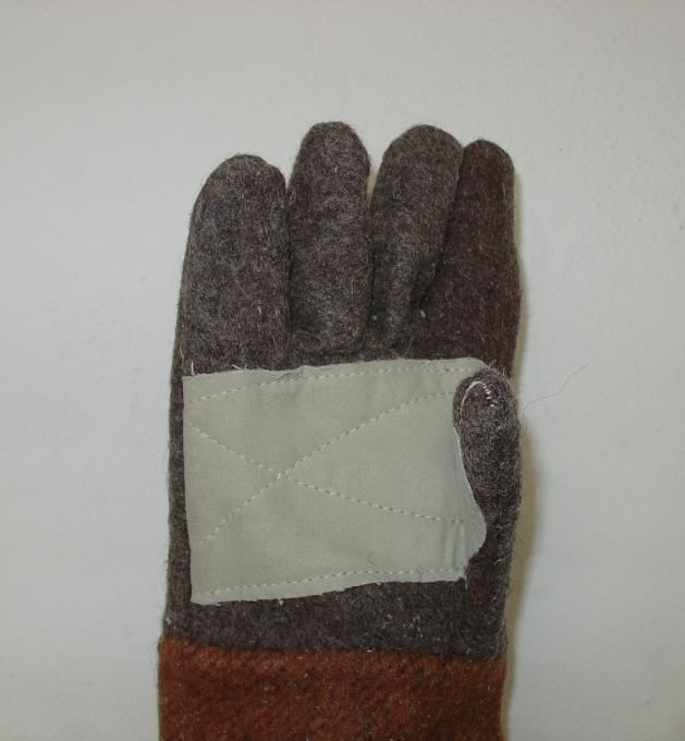 Γάντια δερμάτινα (μόσχου) κατάλληλα για εργοδηγούς 27cm. Εισαγωγής