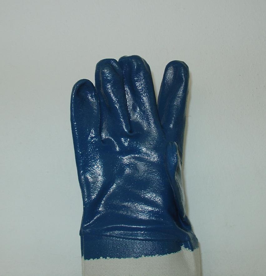 Γάντια πλεκτά από νάιλον με επικάλυψη νιτριλίου στην παλάμη, νούμερα 8,9,10. Εισαγωγής.