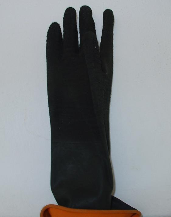 Γάντια πλεκτά με επικάλυψη πλαστικού 27cm εισαγωγής. Εισαγωγής