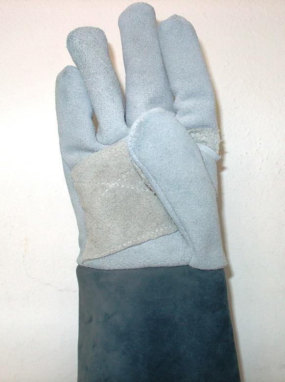 Γάντια κουβέρτας με δερμάτινη ενίσχυση στην παλάμη, κατάλληλα για ψυγείο. Ελληνική Κατασκευή.