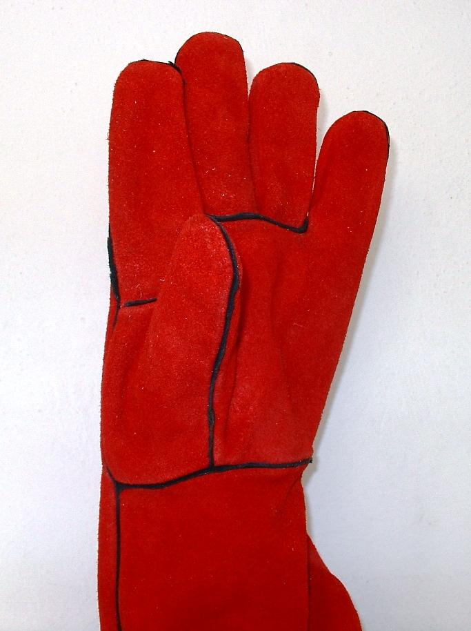 Γάντια ημιδερμάτινα (κρούτα) ηλεκτροσυγκολλητή