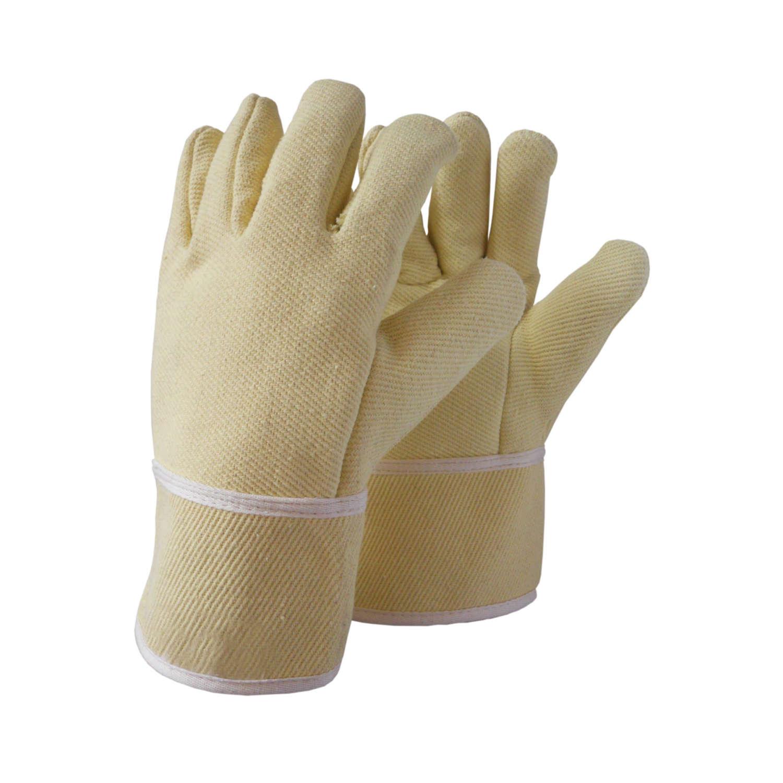 Γάντια Πλεκτά, βαμβακερά, χολύφτας, αμφιδέξια με επένδυση. Βαμβακερό γάντι για κράτημα θερμών αντικειμένων 350οC.